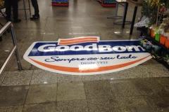 Adesivo para chão/piso para o cliente GoodBom