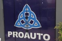 Adesivo para Vidro produzido para o cliente ProAuto