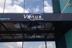 Letra Caixa produzida para o cliente  Venus Construtora