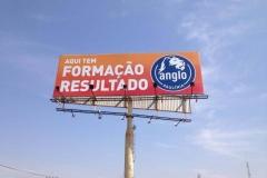 Lona para Outdoor para campanha publicitária do Anglo Paulínia