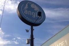 Luminoso para o cliente Anglo Paulínia